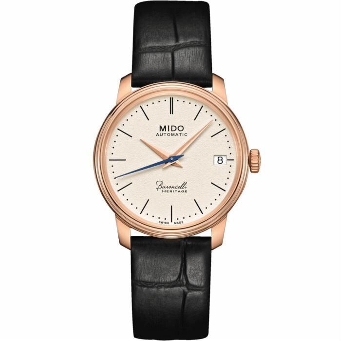Mido 美度錶 M0272073626000 Baroncelli系列Heritage女士機械腕錶 /33mm