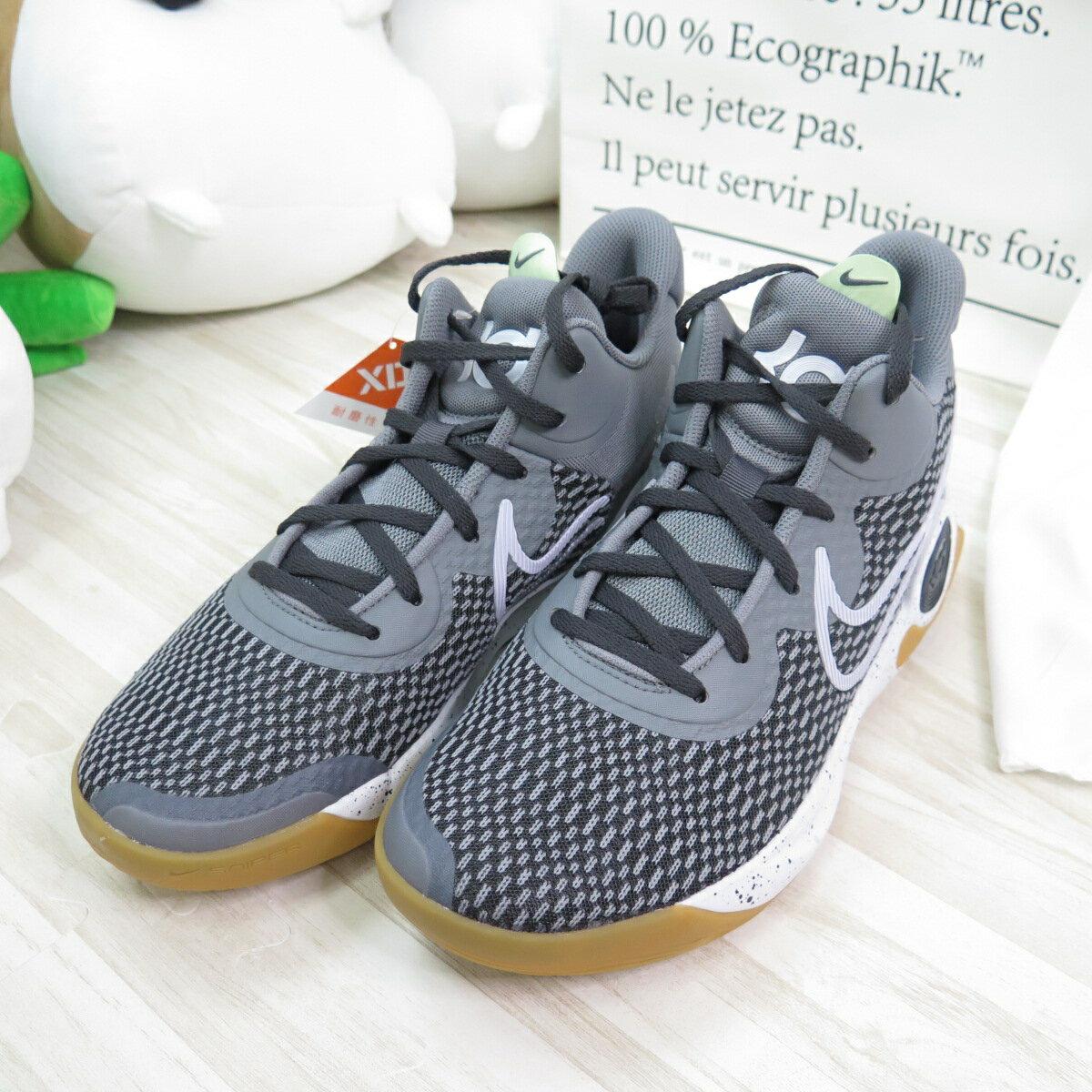 【滿額領券折$150】NIKE KD TREY 5 IX EP 男款 XRD籃球鞋 運動鞋 CW3402003 灰色【iSport愛運動】