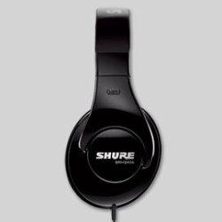 志達電子 SRH240A 美國 SHURE SRH240 耳罩式 監聽耳機 (富銘公司貨) 門市開放試聽!