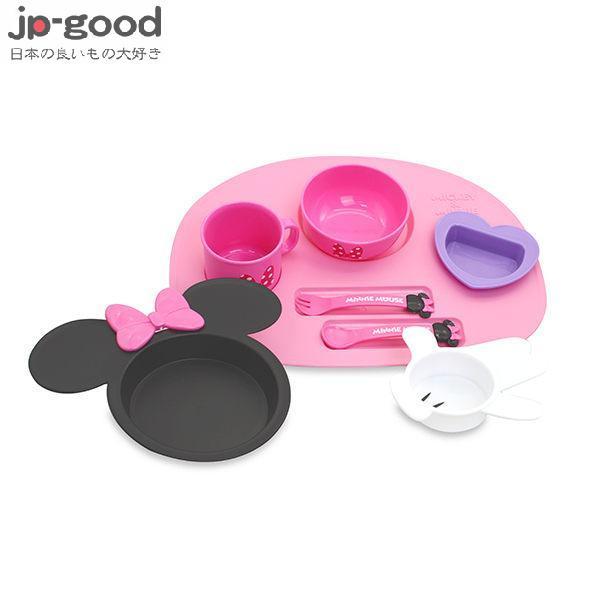錦化成 迪士尼 Disney 米妮造型多功能餐具禮盒