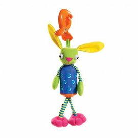 【淘氣寶寶●同價位商品 第二件 66折】Tiny Love 夾偶-長耳兔風鈴【隨身攜帶並可掛在嬰兒推車、提籃汽座及嬰兒床上】