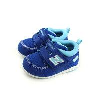 New Balance 美國慢跑鞋/跑步鞋推薦New Balance 休閒運動鞋 魔鬼氈 藍色 小童 童鞋 FS123RBI-W no470