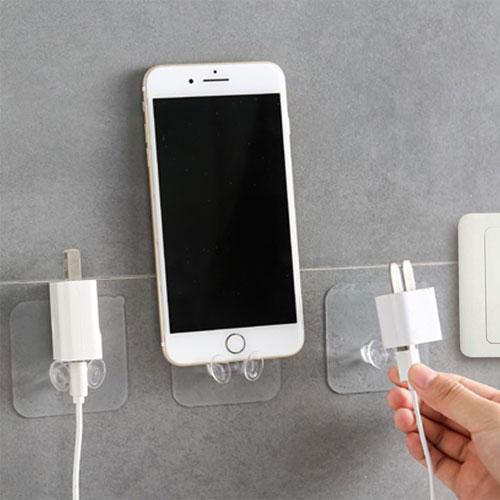 新升級款電源插頭無痕掛鉤廚房無痕強力粘膠電器電線插頭收納掛鉤