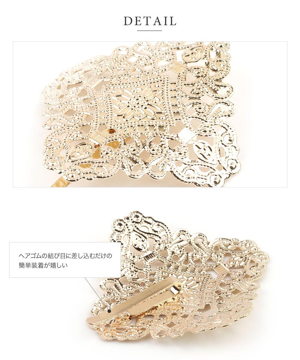 日本CREAM DOT  /  小奢華雕花髮叉 髮簪  /  a03655  /  日本必買 日本樂天直送(1090) 3