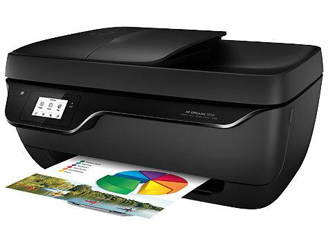 HP OfficeJet 3830 All-in-One 列印/影印/掃描/傳真/無線 商用噴墨多功能事務機(OJ3830)★全新原廠公司貨含稅附發票