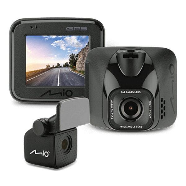 Mio MiVue C570D 星光級夜拍 GPS+測速 雙鏡頭 行車記錄器(內附32G記憶卡)