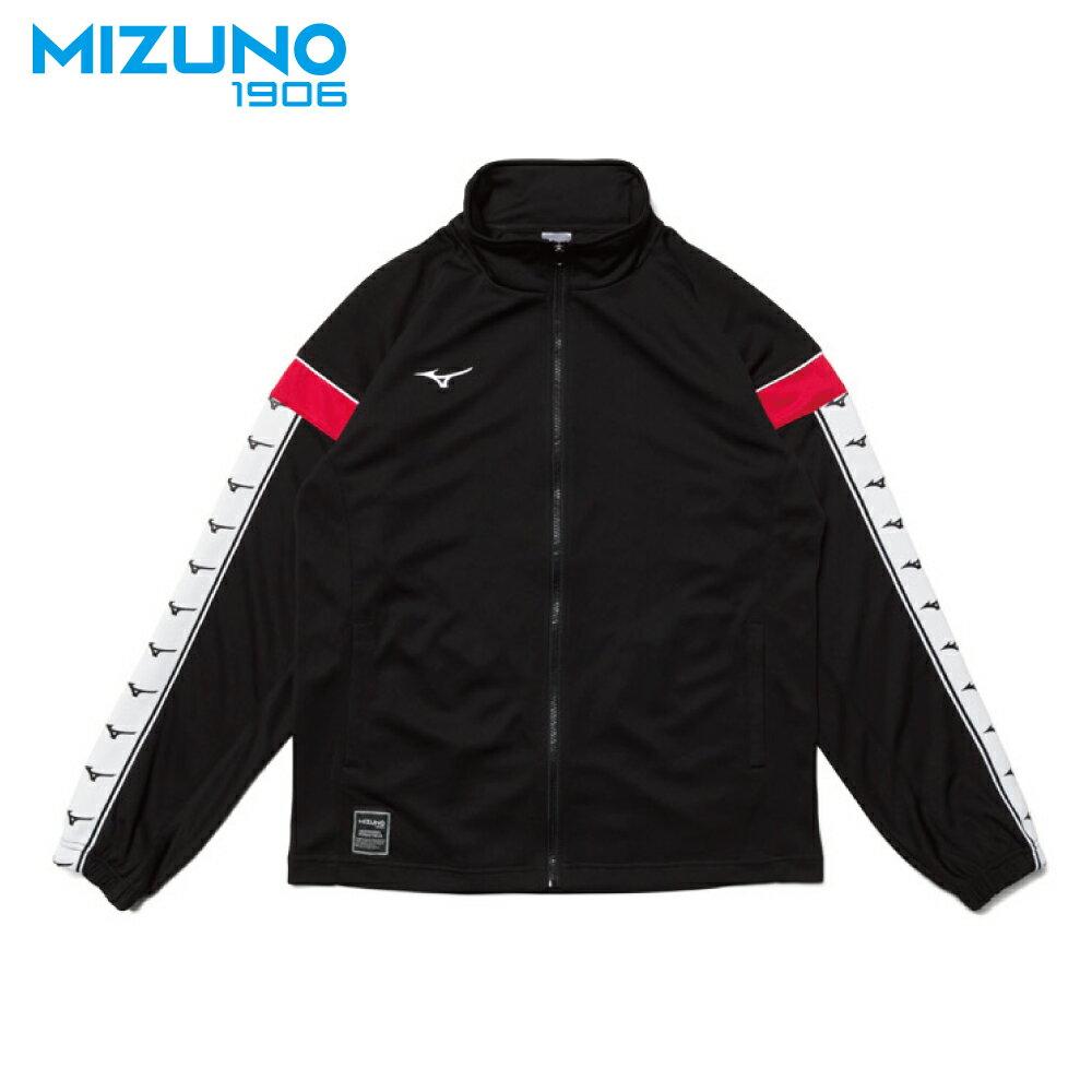 MIZUNO SPORTS STYLE 男款針織外套 D2TC953109(黑)【美津濃MIZUNO】
