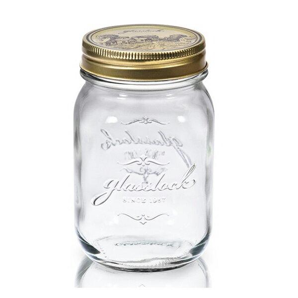 Glasslock經典玻璃密封罐1000ml沙拉罐梅森瓶 -大廚師百貨