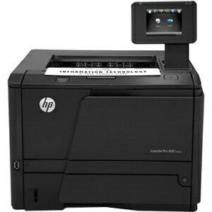 HP LaserJet Pro 400 M401DN Laser Printer - Monochrome - 1200 x 1200 dpi Print - Plain Paper Print - Desktop - 33 ppm Mono Print - 33 ppm Mono Print (ISO) - 300 sheets Standard Input Capacity - 50000 Duty Cycle - Automatic Duplex Print - LCD - Ethernet - U 1