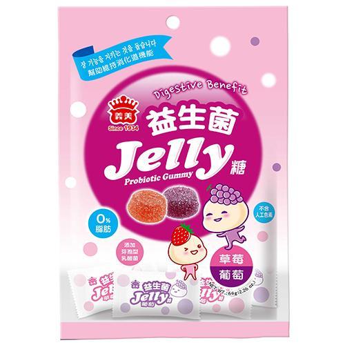 義美益生菌Jelly糖-綜合64g【愛買】