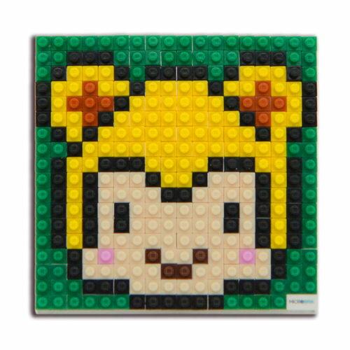 微高積木-生肖-猴/ Microbrik / 2D/ 微型積木/ 裝飾/ 創作 / 美勞/ 療育/ 紀念品/ 伯寶行