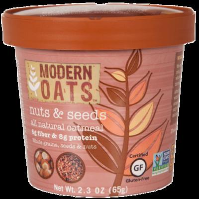 Nuts & Seeds Oat Meal Cups 12's Modern Oats 72133fb9de8d465be0f6d6aefe457646