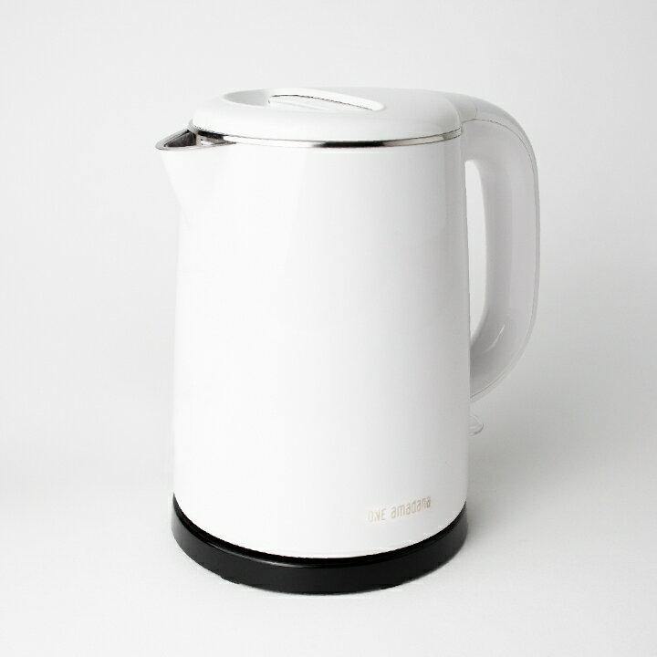 ONE amadana 雙層隔熱快煮壺 STKE-0204 都會極簡/極美設計 公司貨 保固一年