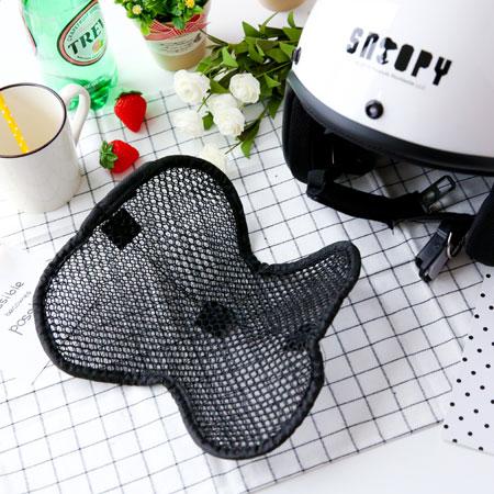 3D蜂巢式透氣安全帽墊 安全帽散熱墊 安全帽墊 內襯 自行車 腳踏車 機車族必備 散熱 透氣 夏天【N202501】