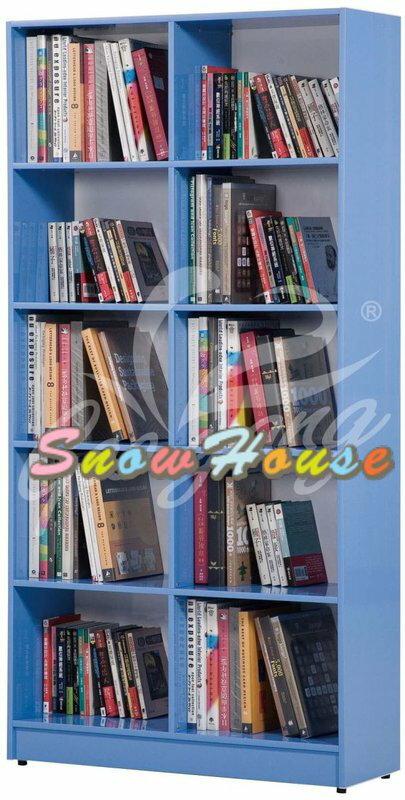 ╭☆雪之屋居家生活館☆╯AA533-01/02&534-01/02/03 BK-236塑鋼書櫃/置物櫃/收納櫃(開放式)