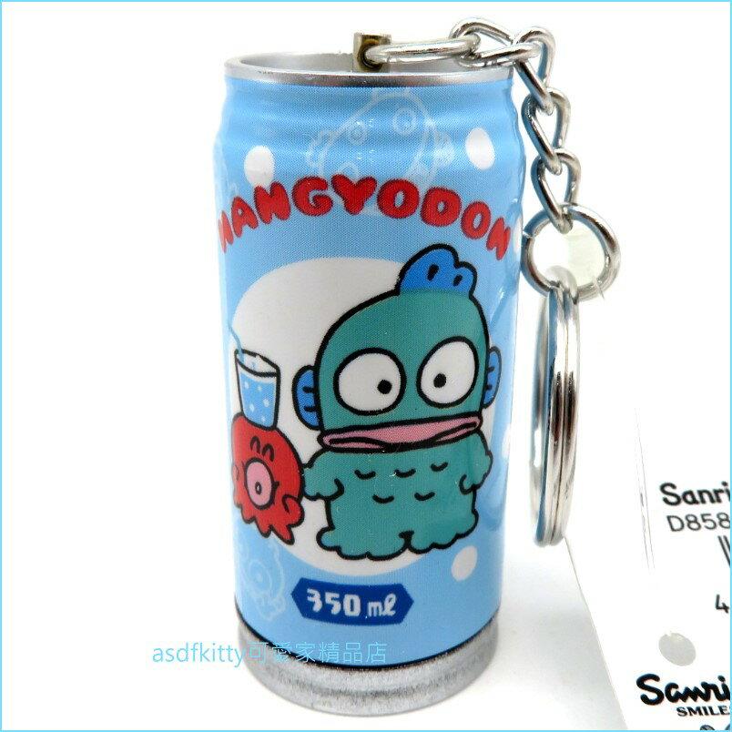 asdfkitty可愛家☆河童罐型原子筆鑰匙圈/吊飾-日本正版商品