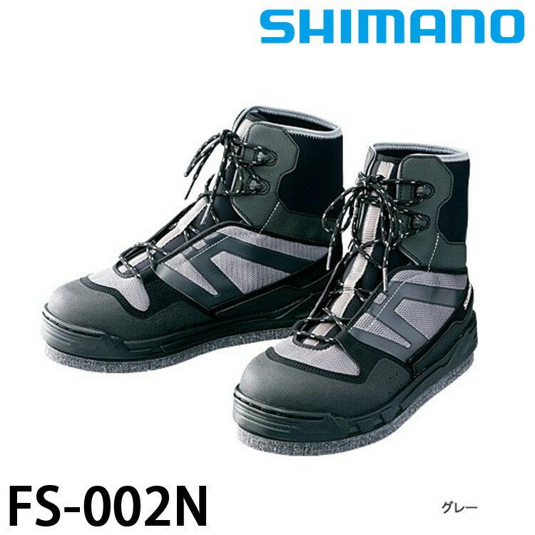 漁拓釣具 SHIMANO FS-002N 灰 (釣用鞋)