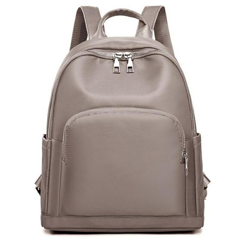 後背包牛津布雙肩包-百搭實用防水純色女包包3色73wy32【獨家進口】【米蘭精品】 1