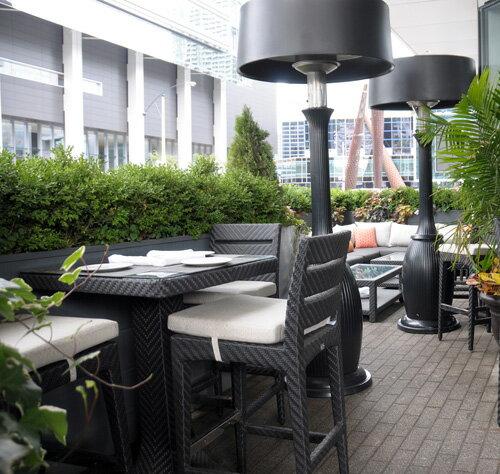 DORIC 多利克 方型吧檯桌 戶外家具【7OCEANS七海休閒傢俱】EXPRESSO 黑褐色 2