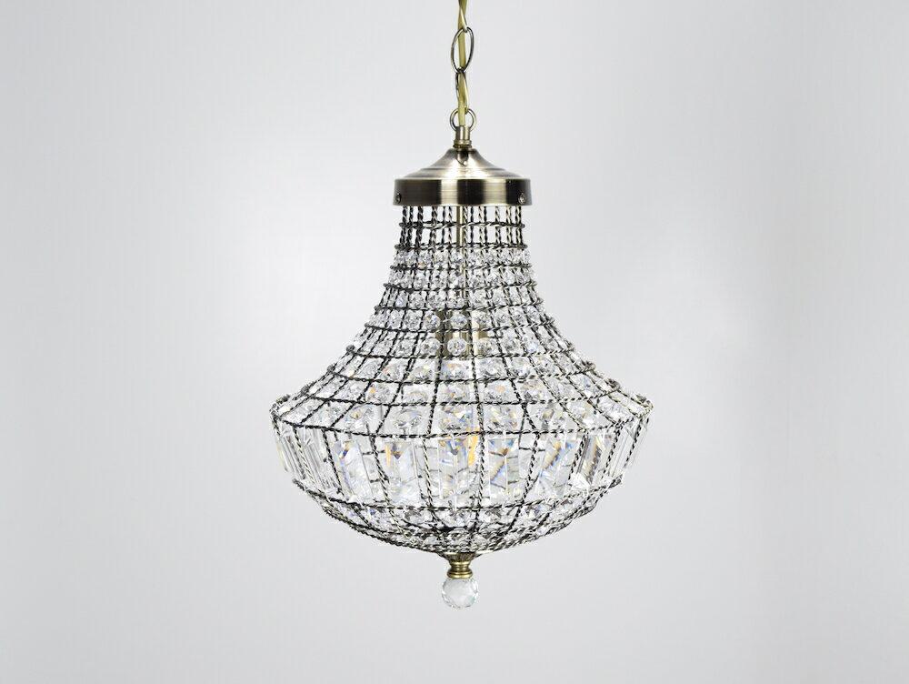 古銅提籠水晶吊燈-BNL00106 2