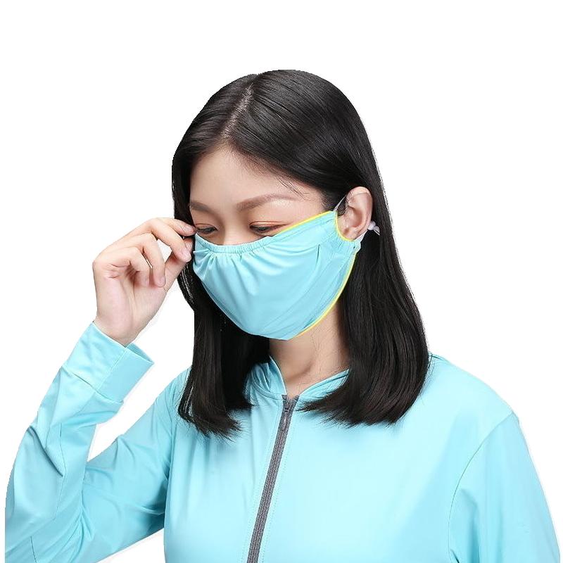 涼感防曬透氣可水洗口罩-5色/單入