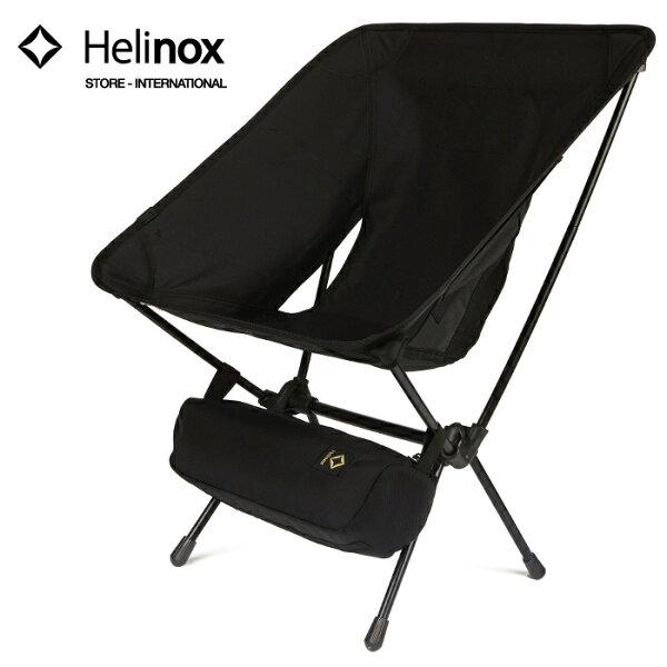 Helinox輕量戰術椅輕量摺疊椅戶外椅帆布椅椅子露營釣魚登山生存遊戲TacticalChair黑色