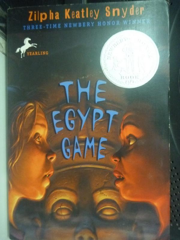 【書寶二手書T9/原文小說_LOF】The Egypt Game_Snyder, Zilpha Keatley