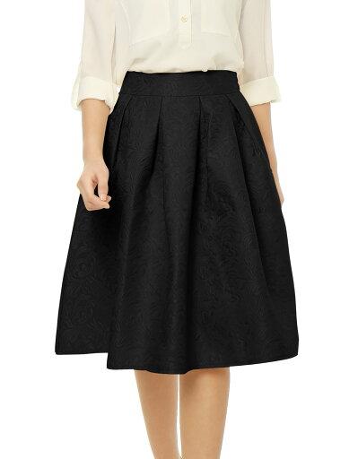 Lady Black Pleated Full A-line Swing Dress Midi Skirt S 8fd51a7f1f98f3d286ae20913a1c9078