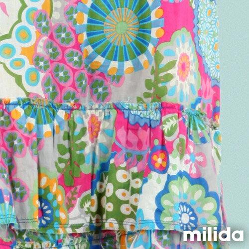 【Milida,全店七折免運】-夏季商品-無袖款-長版百摺洋裝 9
