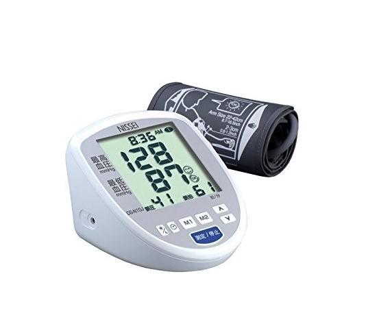 """NISSEI""""日本精密""""手臂式血壓計- DS-N10J,登錄五年保固,贈釩泰平面口罩10片(圖案隨機,送完為止)"""