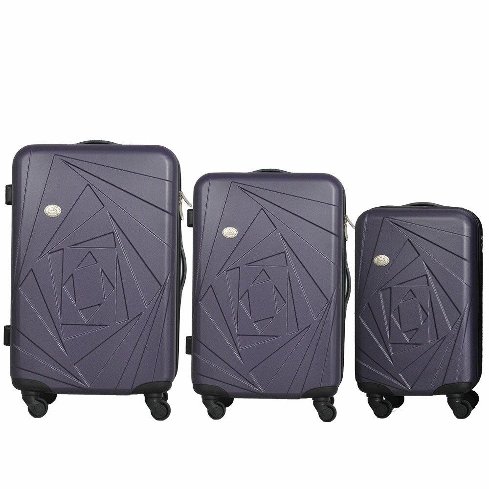 Mon Bagage 巴黎風情系列ABS輕硬殼 28寸 24寸 20寸 三件組 旅行箱 行李箱 1