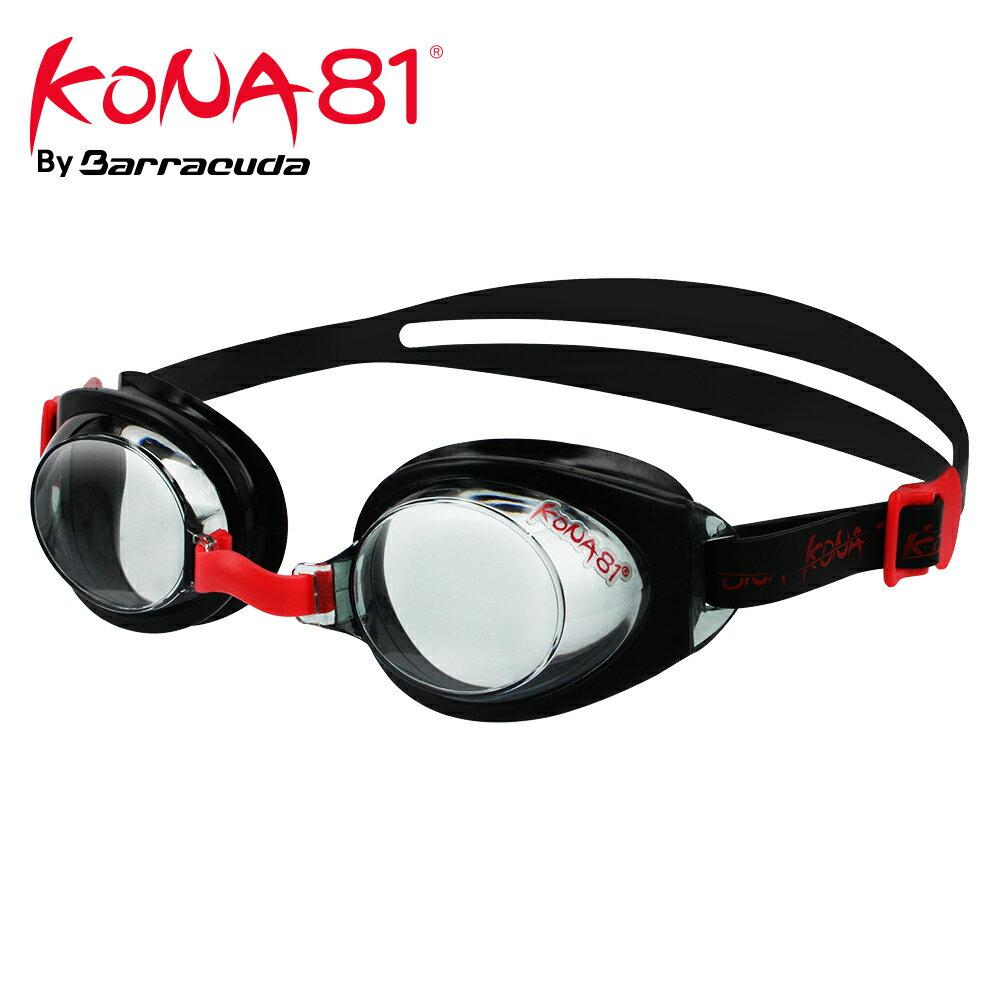美國巴洛酷達Barracuda KONA81三鐵兒童度數泳鏡K712【小鐵人近視專用】 - 限時優惠好康折扣