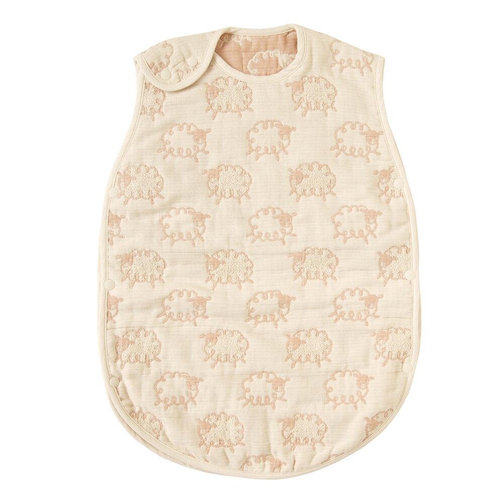 HOPPETTA 日本製 六層紗綿羊防踢背心 (嬰童) 0~3歲款