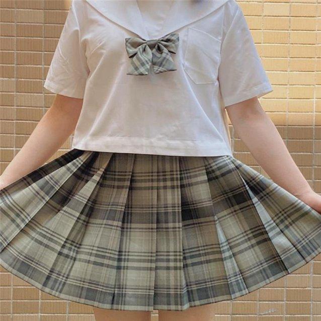 水手服上衣 夏季JK基礎款制服黑白無本關西襟半袖襯衫女學生學院風-Ballet朵朵 秋冬特惠上新~