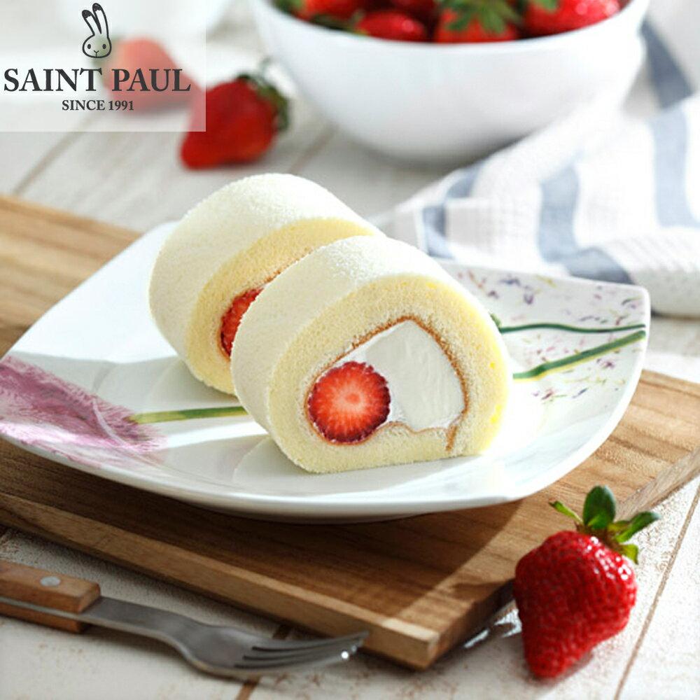 【聖保羅烘焙花園】草莓奶凍捲1入【季節限定】