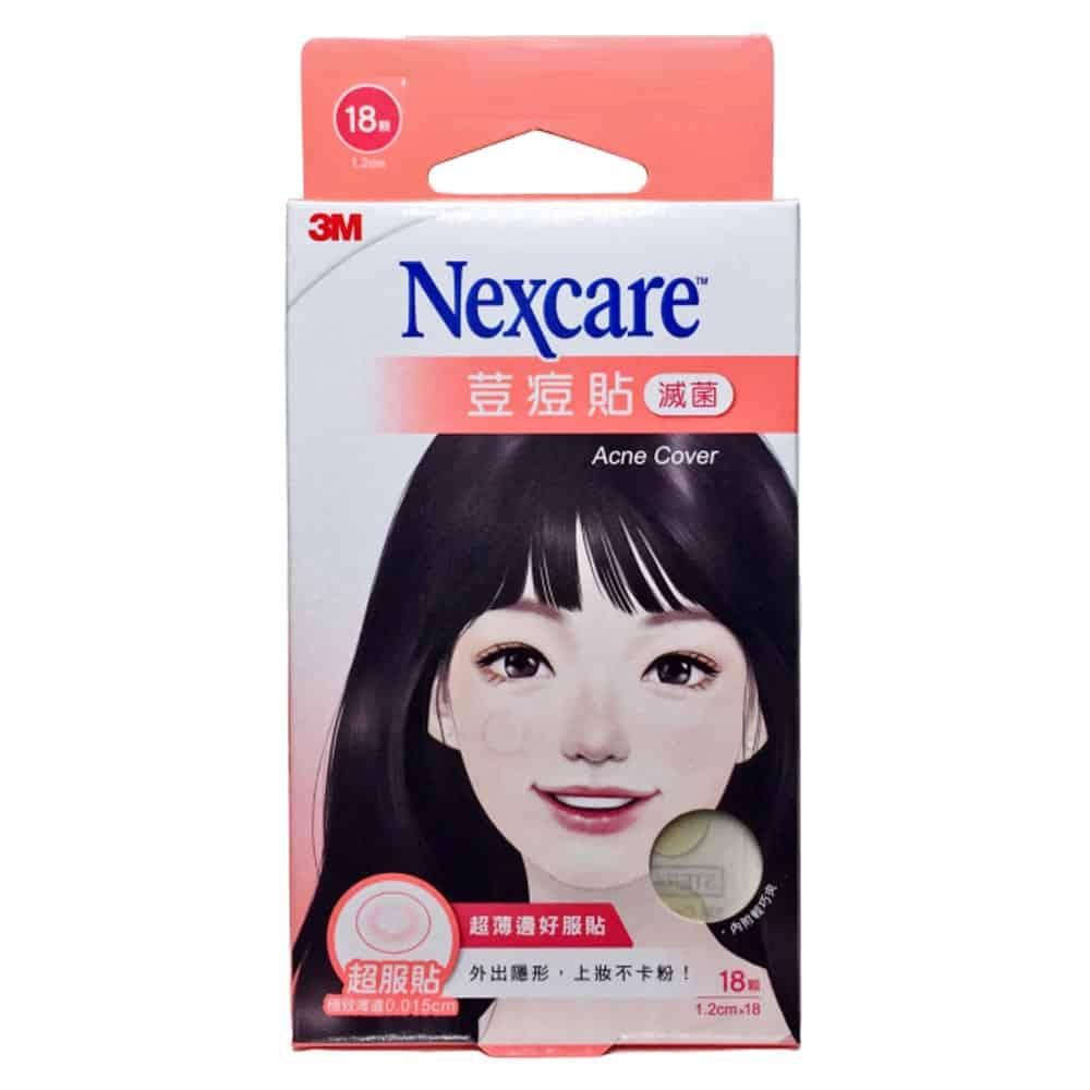 3M Nexcare 荳痘貼 滅菌 超服貼 18顆/盒