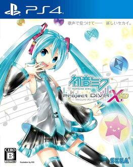 現貨供應中 中文版 [輔導級] PS4 初音未來 -Project DIVA- X HD