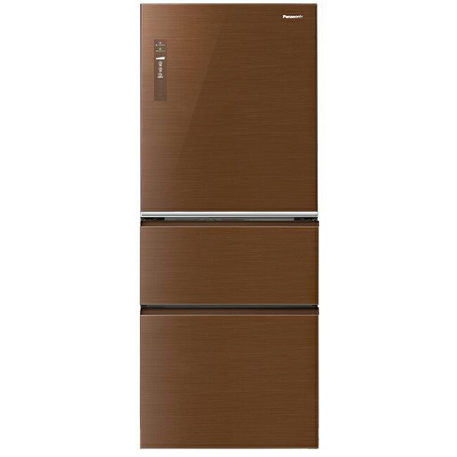 【國際牌Panasonic】ECONAVI 500L三門變頻冰箱。翡翠棕/(NR-C508NHG/NR-C508NHG-T)