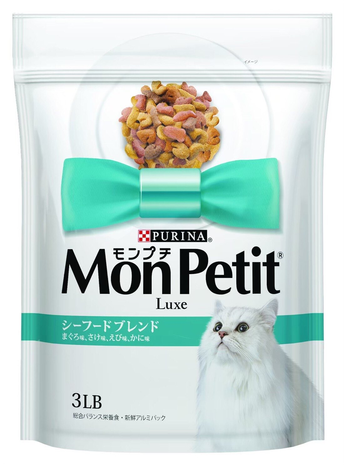 貓倍麗 MonPetit 成貓乾糧 【海鮮拼盤配方】1.36kg