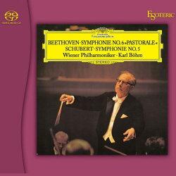 【停看聽音響唱片】【SACD】貝多芬:F大調第六號交響曲作品68「田園」;舒伯特: 降B大調第五號交響曲,作品485