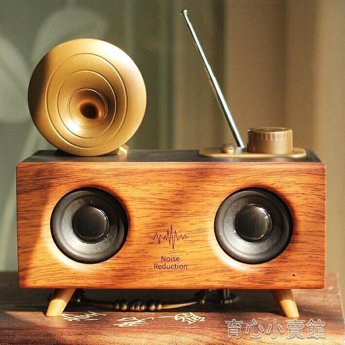 B6無線藍芽音箱低音炮超大音量便攜式戶外收音機隨身碟3D環繞車載復古小音響