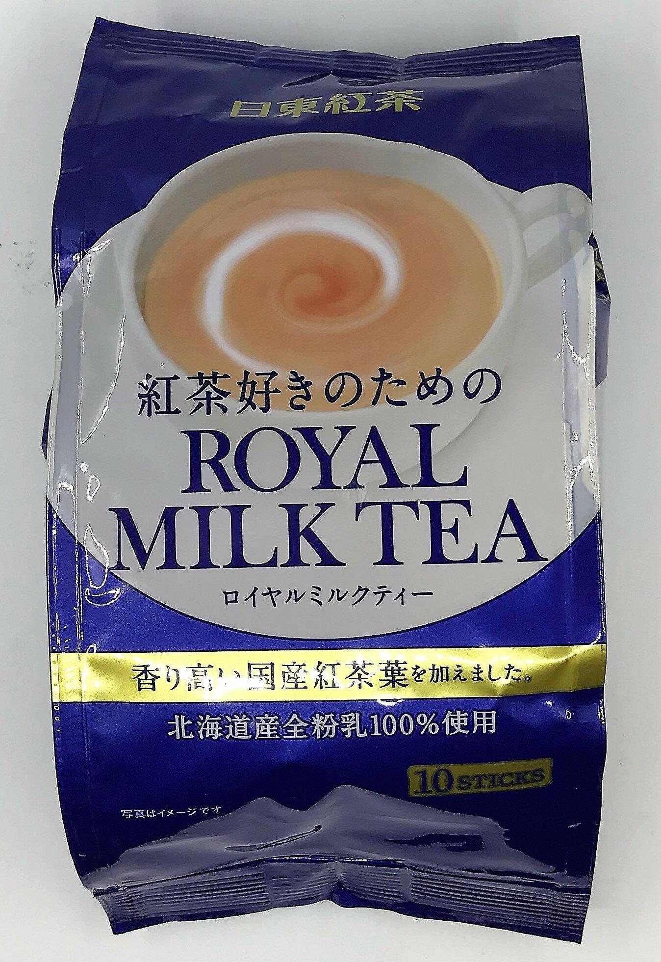 [哈日小丸子]日東皇家奶茶(10袋)