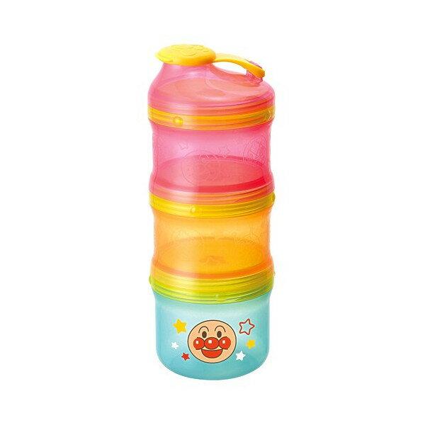 X射線【C158009】麵包超人2用奶粉分裝盒,餐具組/奶粉盒/分裝袋盒/BABY/旋轉奶粉分裝盒/拋棄式奶粉分裝袋