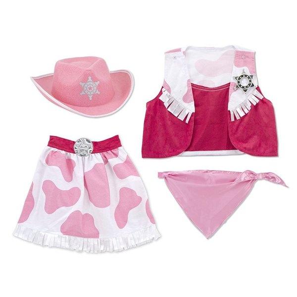 東喬精品百貨商城:【免運費】《萬聖節服裝》美國Melissa&Doug-角色服裝-女牛仔服