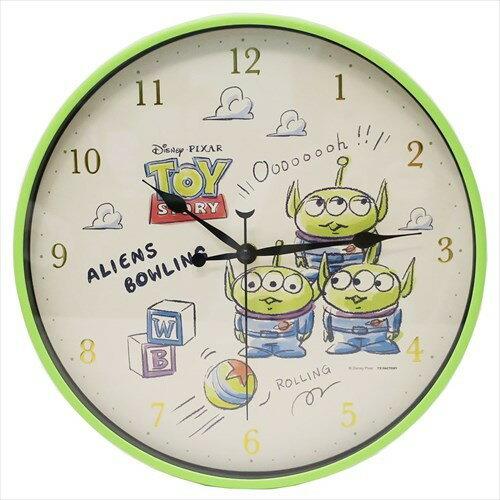 大賀屋 三眼怪 時鐘 掛鐘 鐘 居家 擺飾 擺設 玩具總動員 迪士尼 皮克斯 Disney 正版授權 J00014519