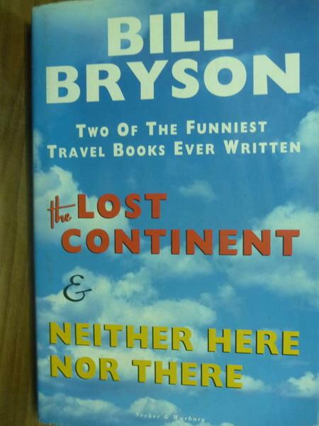 ~書寶 書T1/原文書_PFD~The Lost Continent  …_Bill Br