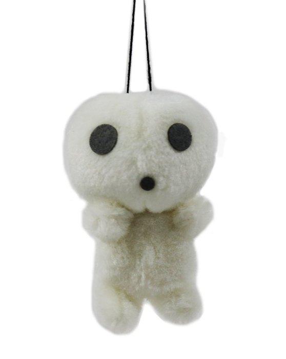 7100500068 樹精拉震鈴噹娃-疑惑 樹精 宮崎駿 魔法公主 鑰匙圈 吊飾 娃娃 玩偶 收藏 真愛日本