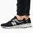 Shoestw【CM997HCC】NEW BALANCE NB997 復古休閒鞋 麂皮 網布 黑灰銀 男生尺寸 0