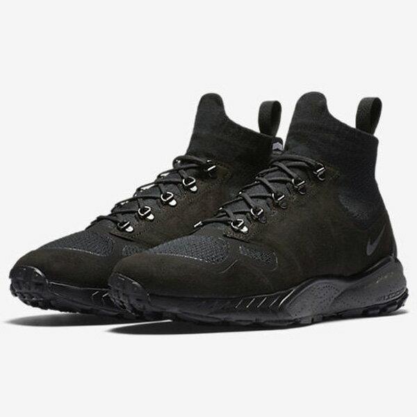NikeZOOMTALARIAMIDFKFLYKNIT男鞋休閒襪套黑灰【運動世界】856957-001
