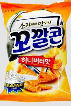 【韓新館】 LOTTE 蜂蜜奶油風味牛角造型餅乾 (缺貨中)